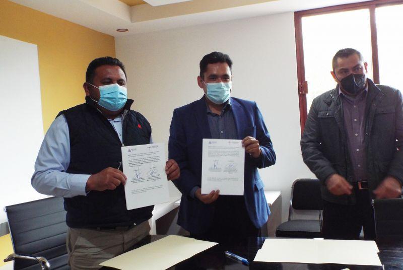Firma de convenio anticorrupción